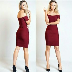 Dresses & Skirts - Maria bardot bandage dress